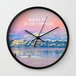 _SAUVE TOI Wall Clock