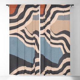 Modern Abstract Art 56 Blackout Curtain