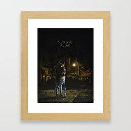 Du er ikke alene Framed Art Print