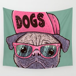 Dogs Wall Tapestry