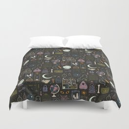 Haunted Attic Duvet Cover