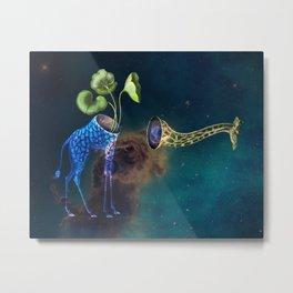 cameleopard Metal Print