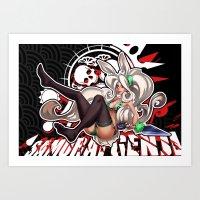 Momoko  Art Print
