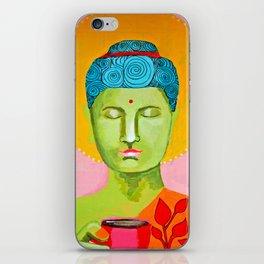 Even the Buddha needs a cuppa 2 iPhone Skin