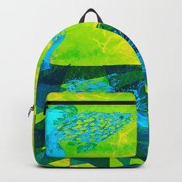 Fish Buddies - Green Blue and Aqua Palette Backpack
