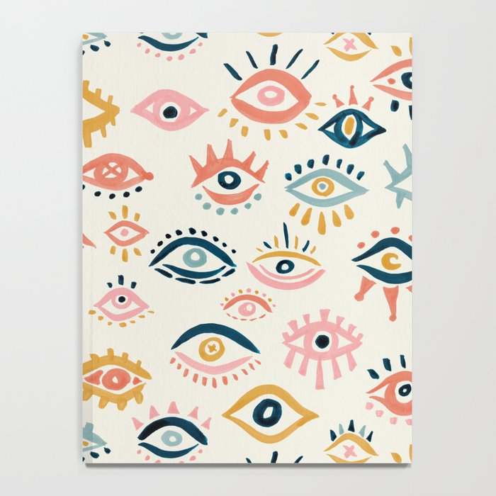 Mystic Eyes – Primary Palette Notebook
