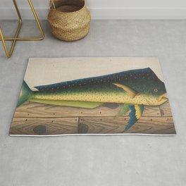 Mahi-Mahi Fish artwork Rug