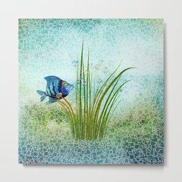 Tom der Fisch Metal Print