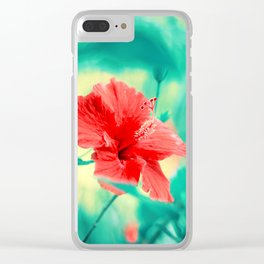 Tropical Exuberance II Clear iPhone Case