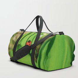 The Ladybug and Lily of the valley Duffle Bag