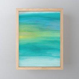 Ocean Series, 4 Framed Mini Art Print