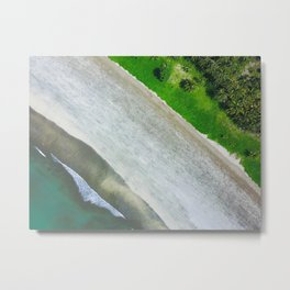 Island Stripes Metal Print