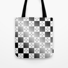 Pussy Checkerboard Abstract Tote Bag