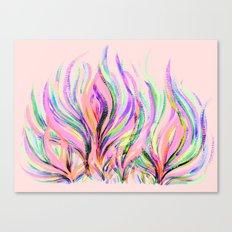 Grazioso Pastel Pink Canvas Print
