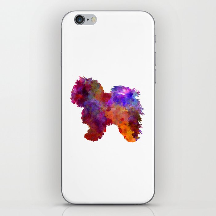 Bolognese in watercolor iPhone Skin