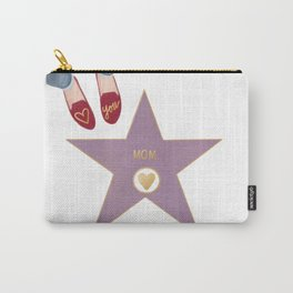 Mom of Fame Carry-All Pouch