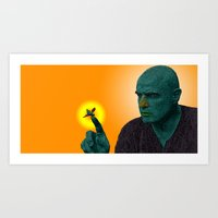 apocalypse now Art Prints featuring Apocalypse Now Marlon Brando by CultureCloth