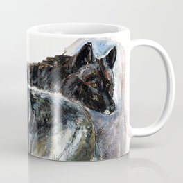 Totem Timber wolf Coffee Mug