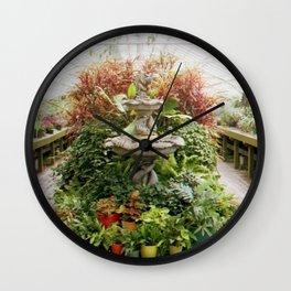 Grand Garden Wall Clock