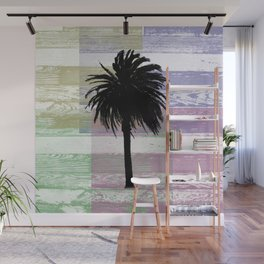 Palm and colors Wall Mural