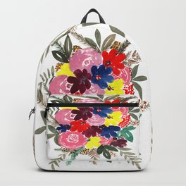 Floral Bouquet Beauty Backpack