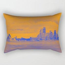 Sidney sky line. Rectangular Pillow