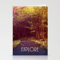 explore Stationery Cards featuring explore by Sylvia Cook Photography