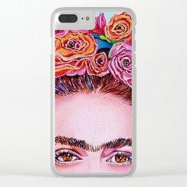 "Just Like Frida ""I See You"" Clear iPhone Case"