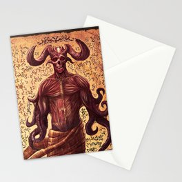 BabYlonian Demon Anatomy Stationery Cards