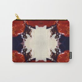 Red Rosie Photographic Pattern Carry-All Pouch