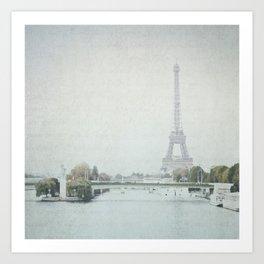 Letters From Liberté - Paris Art Print