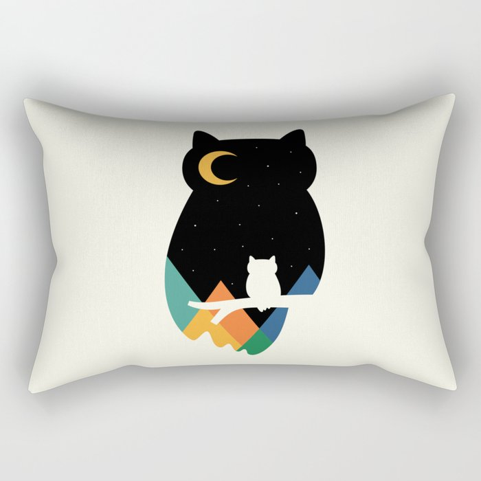 Eye On Owl Rectangular Pillow