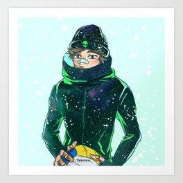 Oikawa Frostbite Art Print