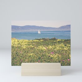 Sail Santa Barbara Mini Art Print