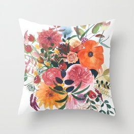 Autumn Gathering Throw Pillow