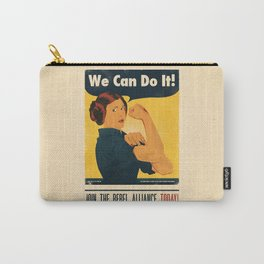 Leia the Riveter 2: The Alliance Strikes Back Carry-All Pouch