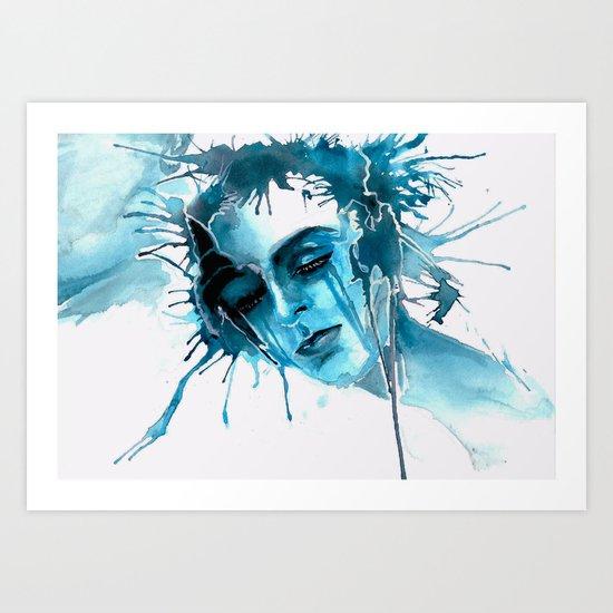 When I feel you Art Print