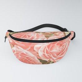 Elegant Pink Roses Fanny Pack