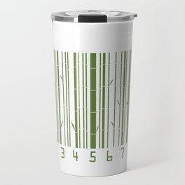 Bamboo Barcode Travel Mug
