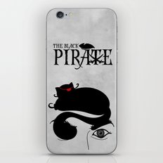 The Black Pirate iPhone & iPod Skin
