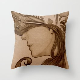 On my mind Throw Pillow