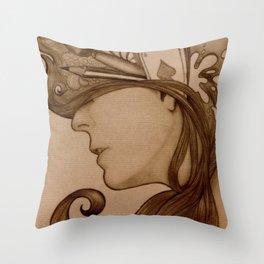 On my mind Throw Pillow