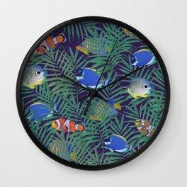 aquarium Wall Clock