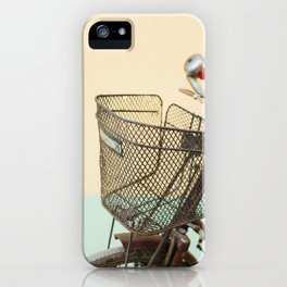 Vintage Bike in Kolkata  iPhone Case