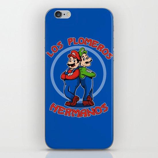 Los Plomeros Hermanos iPhone & iPod Skin