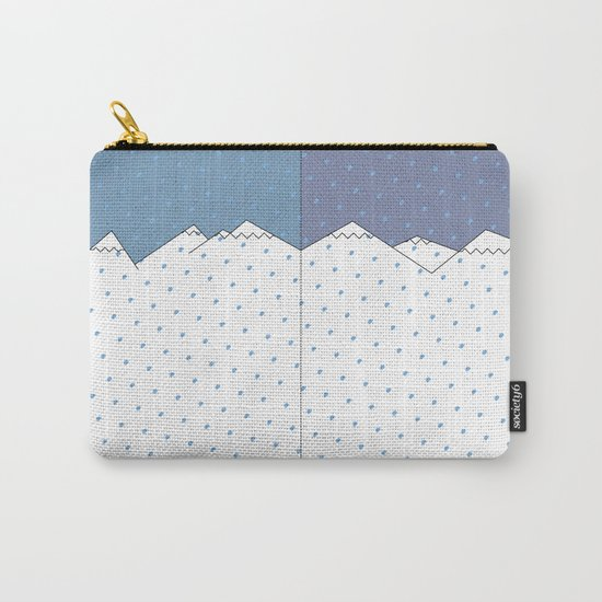 WINTER SNOW Carry-All Pouch