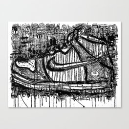 Dunk High Ink Canvas Print