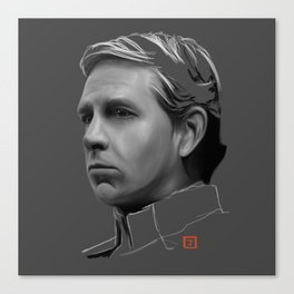 Orson Krennic: sketch-painting Canvas Print