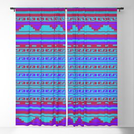 Mexican Aztec ethnic pattern Blackout Curtain