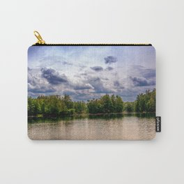 Concept nature : Relaxing by a lake Carry-All Pouch